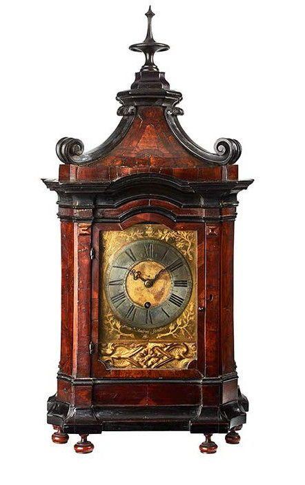 Beyer Ticino Wooden Table Clock With Pendulum Francesco Andrea Santino Ticino Switzerland C1680 Antique Clocks Clock Antique Wall Clock