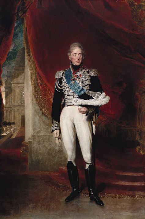 Charles X (1757-1836), King of France. 1825. Lawrence
