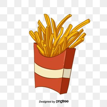 Hand Painted American Fast Food French Fries Fast Food Clipart Packing Potato Png Transparent Clipart Image And Psd File For Free Download French Fries American Fast Food Fast Food Specials