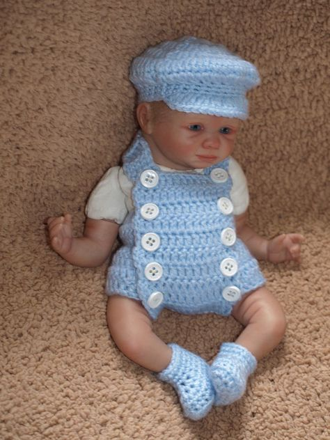 Cute Baby Doll Clothes Set for 10-11inch Reborn Girl//Boy Dolls Casual Outfit