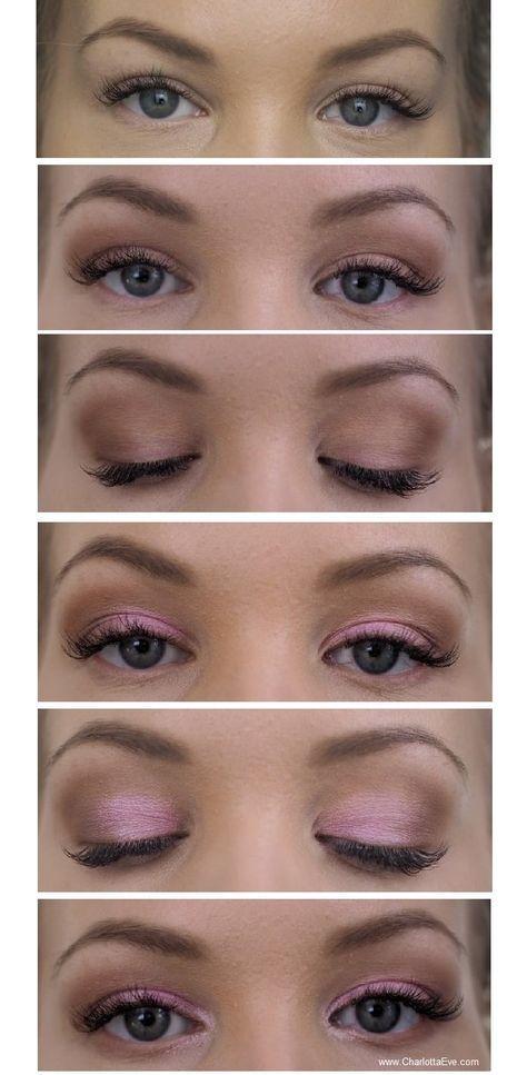 eyeshadow tutorial for hooded eyes   personal use in 2019