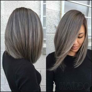 Grey Ombre Bob With Lace Front Shebelt Mall Hair Styles Thick Hair Styles Medium Hair Styles