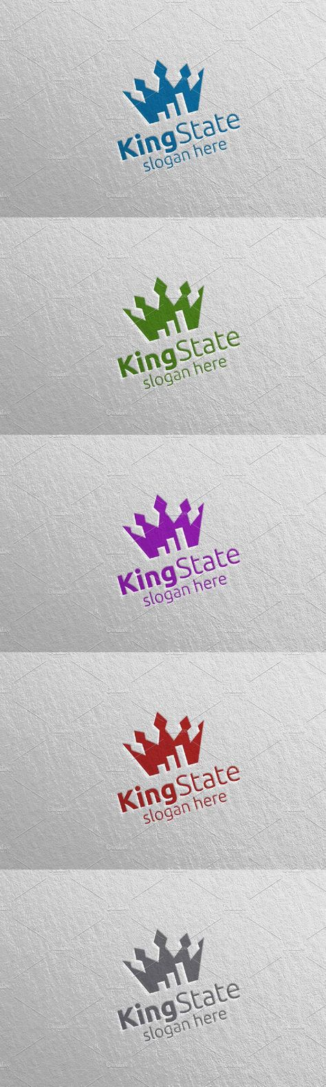 King Marketing Financial Logo 34