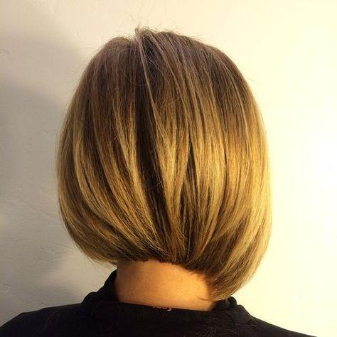 layered asymmetrical bob