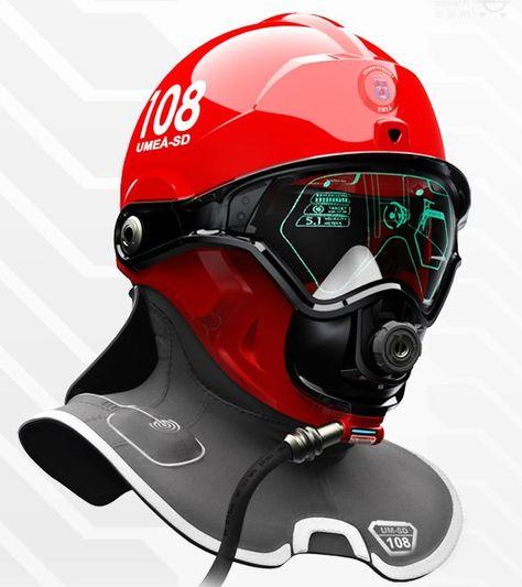 Swedish Super Helmet Helps Firefighters See Through Smoke