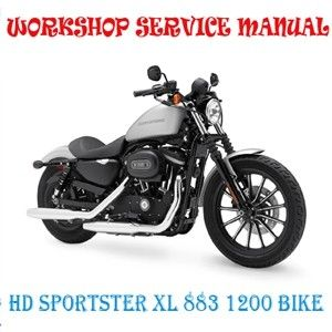 Harley Davidson Sportster Xl 883 1200 Bike 2004 2008 Workshop Service Repair Manual Pdf Download In 2020 Harley Davidson Repair Manuals Sportster