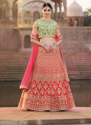 f197045898 Adorable #Style #Designer #Wedding #Lehenga #Choli Zoom | Fashion ...