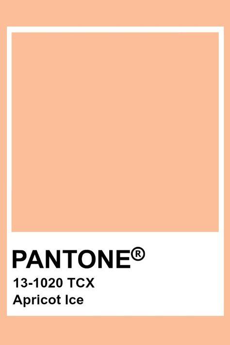 Pantone Apricot Ice