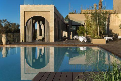LUBERON AND TRAVERTIN LIMESTONE PROJECT : SAHRAI HOTEL - FEZ ...