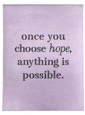 East Urban Home Handwritten Choose Hope Quote Poly Chenille Rug Hope Quotes Chenille Rug Choose Hope