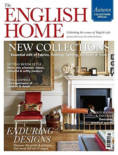 The English Home By Chelsea Magazine Https Www Amazon Com Dp B01ju41rgm Ref Cm Sw R Pi Dp U X Uz9l English House House And Home Magazine British Architecture