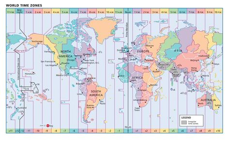 Color Coded Map Of Usa.United States Color Coded Time Zone Map Pictures United States