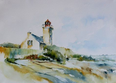 Lighthouse Groix Island Phare De L Ile De Groix Ile De Groix