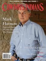 Mark Harmon on the front of Cowboys and Indians (October)- nice. Love Him!!!