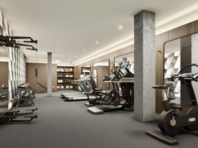 30 Ways To Make A Home Gym In Any Space Dream Home Gym Fitness Center Design Gym Interior