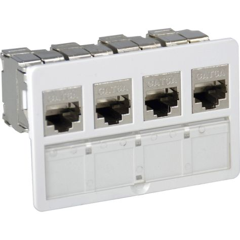 Lot De 4 Connecteurs Modulaires Rj45 Cat6 Lexman En 2019