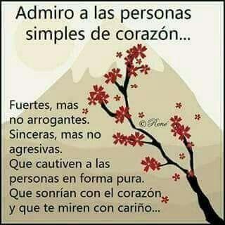 Admiro A Las Personas Simples Consejos Para Ser Feliz