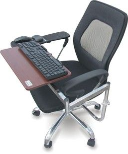 Free Shipping Creative Lazy Chair Computer Keyboard Stand Tray Laptop Satisfy Wrist Mouse Pad