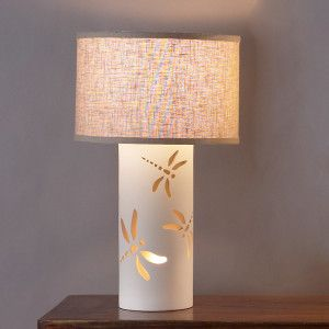 12 5 Dragonfly Dream Table Lamp Ceramica Childrens Table Lamps Table Lamp Ceramic Table Lamps