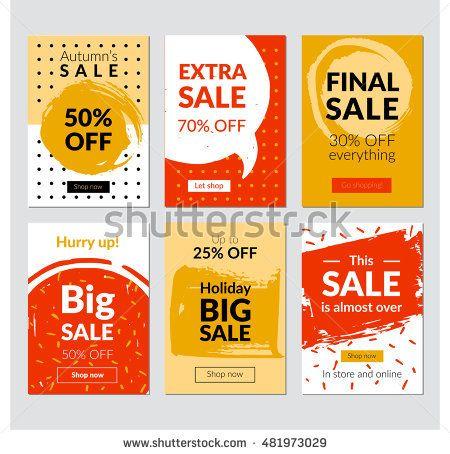 stock-vector-flat-design-eye-catching-sale-website-banners-for-mobile-phone-vector-illustrations-for-social-481973029.jpg (450×454)
