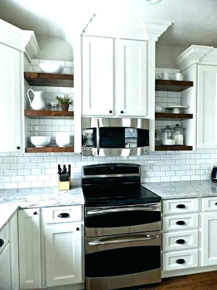 Open Shelving Under Kitchen Cabinets Kitchen Base Cabinets With