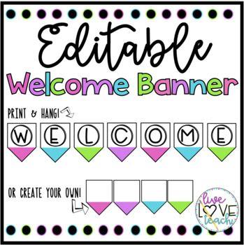 Editable Banner Template Free