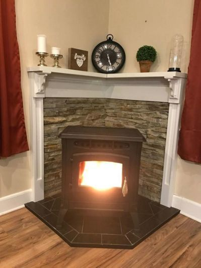 Free Standing Gas Fireplace Ventless Corner Wood Stove Wood Stove Decor Stove Decor