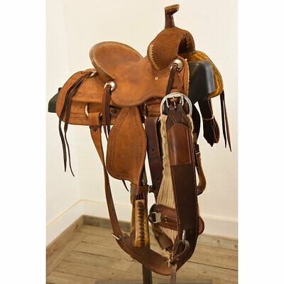 Advertisement Ebay Used 10 Teskey S Youth Ranch Saddle Code U10teskyjran In 2020 Ebay Saddle Western Leather
