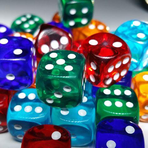 Juegos con dados - Educación Primaria