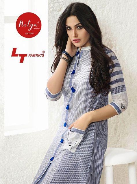 Lt fashion nitiya 25 Nx Kurties Catalog Supplier At