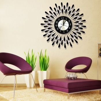 Decorative Wall Clocks Fashion Beautiful Wall Clocks Customized Decorative Wall Clock Clock Wall Decor Clock Decor Living Room Clocks