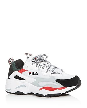 FILA WOMEN'S RAY TRACER LOW TOP SNEAKERS. #fila #shoes
