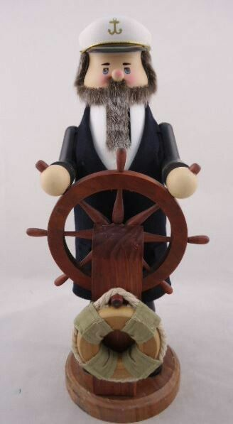 The Whitehurst Company, LLC Heirloom Collectible Nutcrackers by Zim's Ship Captain