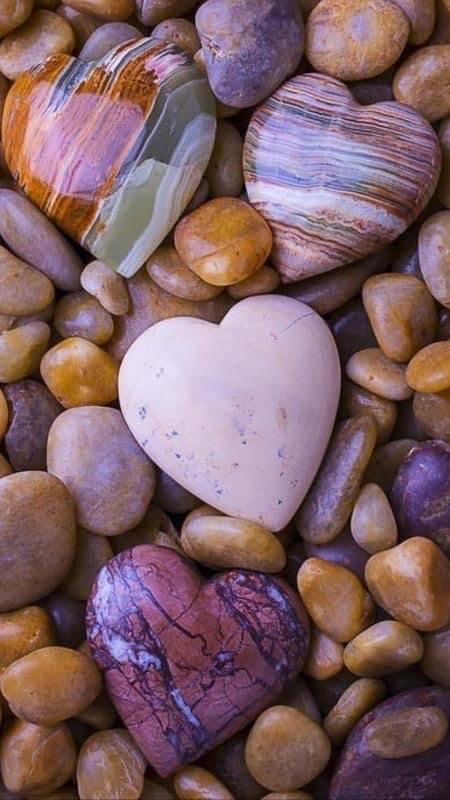 Beach Stones Love Pebbles In 2021 Stone Wallpaper Romantic Wallpaper Beautiful Wallpapers Backgrounds