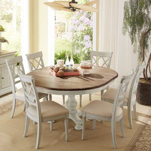 Do Round Kitchen Table Sets For 6 Serve Us Well Allgood 7 Piece Dining Set Round Dining Room Kitchen Table Settings Farmhouse Dining Room Table Round dining room sets for 6