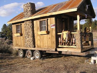 tiny homes on wheels | Deserts and Beyond: little house on wheels | Little  Dream Homes | Pinterest | Deserts, Wheels and Tiny houses