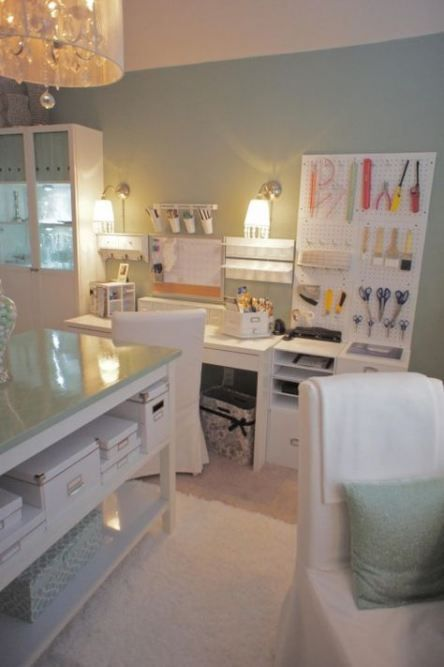 Makeup Table Ideas Beauty Room Wall Colors 19 Ideas For 2019 Room Design Dream Craft Room Craft Room Design