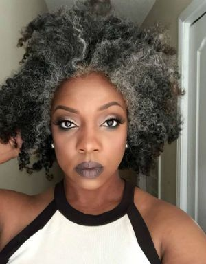 Grey Hair Journey By Ava Gilchrist Beautiful Black Hair And Skin Grey Hair Journey Natural Hair Styles Gray Hair Beauty