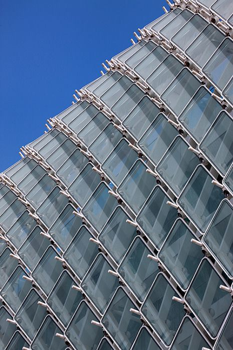 Wu0026W Glass Facades Blog | What Are Cable Tension Facades? | Architectural  Structure | Pinterest | Facades