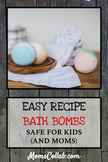 DIY Bath Bombs For Kids (and Moms) in Five Easy Steps