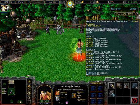 Tải Download Warcraft 3 Map Bleach Vs One Piece Chi Tiết Latrongnhon Ladigi Trong 2020 Bleach One Piece Hố đen