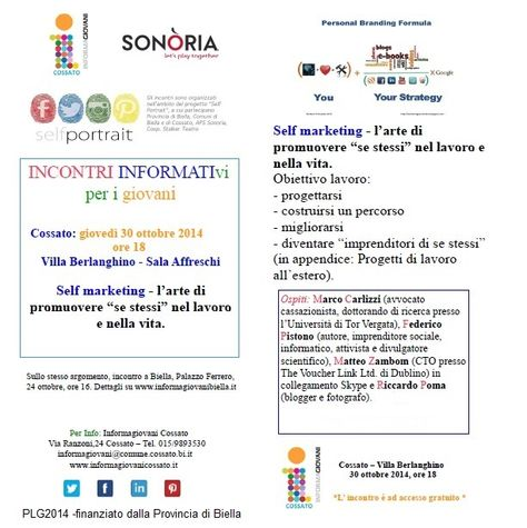 Informagiovanicossatoselfmarketing Trovare La Propria Unicita