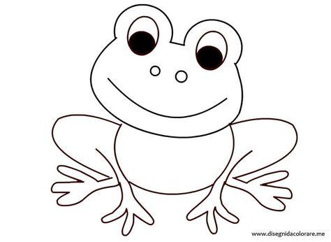 frosch ausmalbild 01