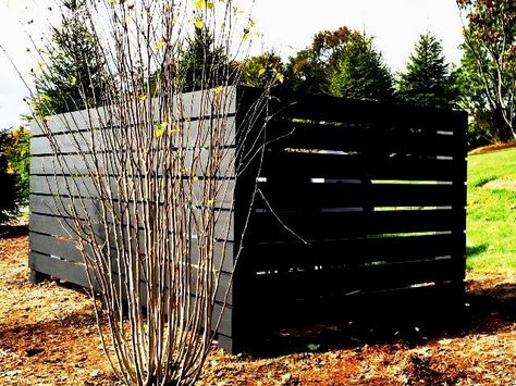 Horizontal Wood Privacy Fencing For Dumpster Enclosure Wooden Pallet Crafts Outdoor Fencing Wood Privacy Fence