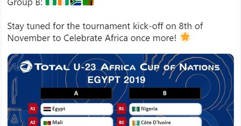 african cup of nations 2020 groups