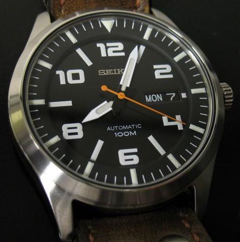 de10d78bd Custom Seiko Pilot watch