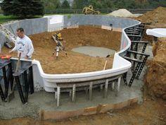 diy cinder block swimming pool Insulated Blokit Inground Swimming