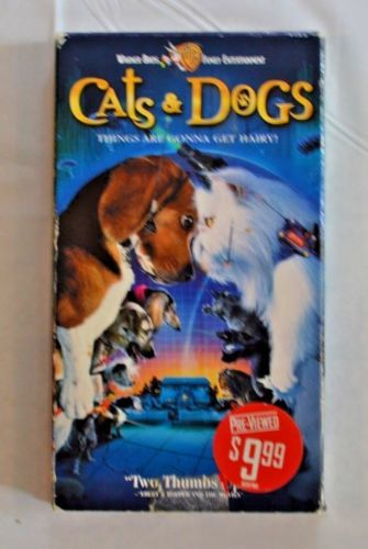 Cats Amp Dogs Vhs Movie Cats Dogs Vhs Movie