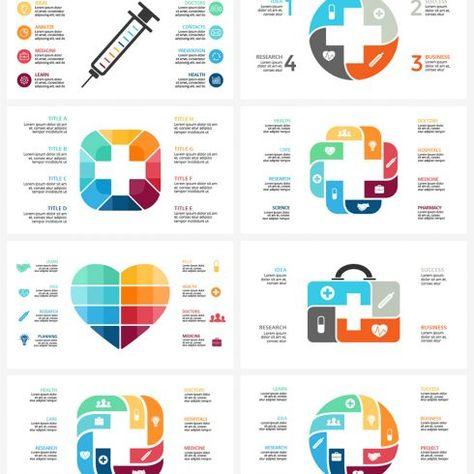 Medical Infographic Ppt Key Psd Eps 10 Modèle