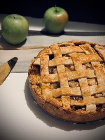 أبل باي فطيرة تفاح بالصور من ام حسن Recipe Desserts Food Apple Pie